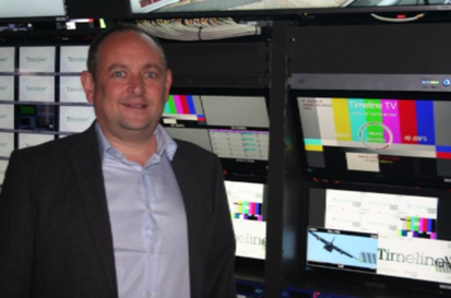Dan McDonnell – Managing Director of Timeline onboard UHD2