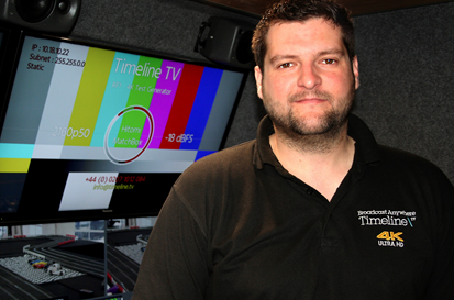 Lee Wright – Senior Broadcast Engineer onboard Truck RF1