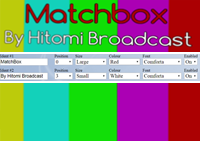 Text Ident Matchbox Generator